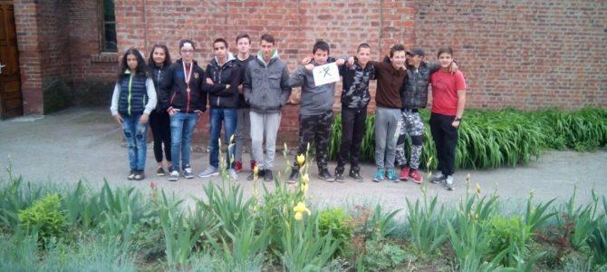 Засаждане на цветя и оформяне на училищните алеи